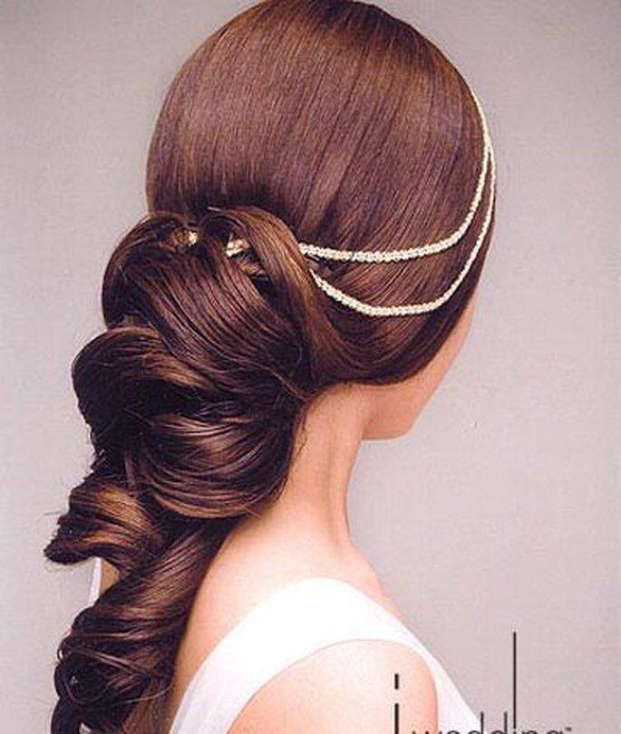 Eine prachtvolle Frisur zur Hochzeit - lemienozze.it