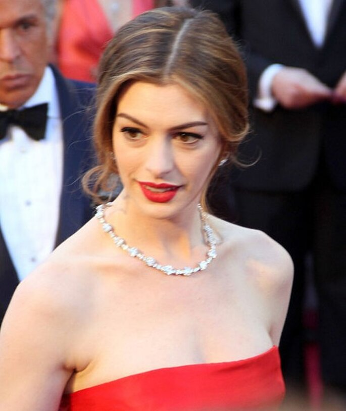 La actriz Anne Hathaway - Foto Creative Commons Attribution ShareAlike