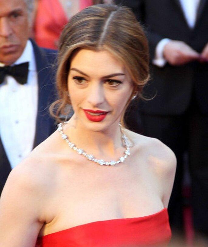 La actriz Anne Hathaway - Foto Creative Commons Attribution ShareAlike