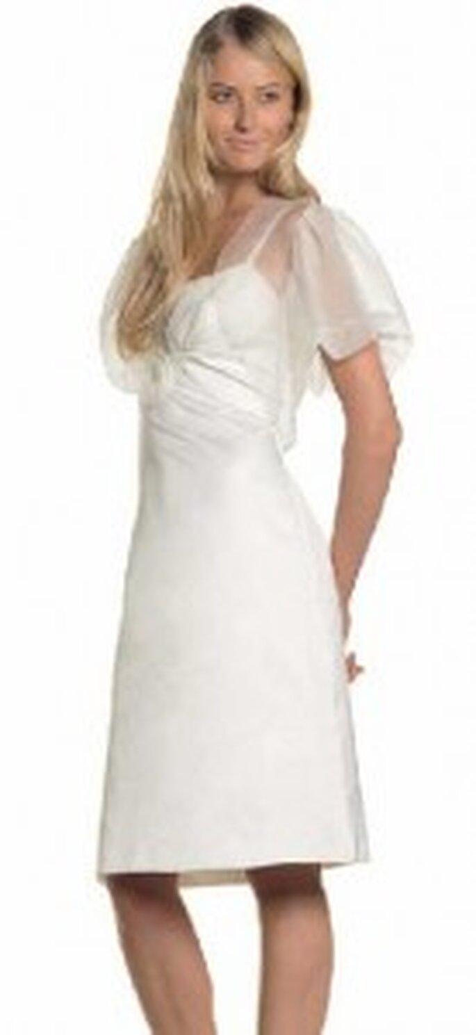 Max Mara: Kurzes Brautkleid Trend 2011
