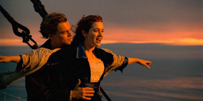 amour cinéma films romantiques titanic leonardo dicaprio