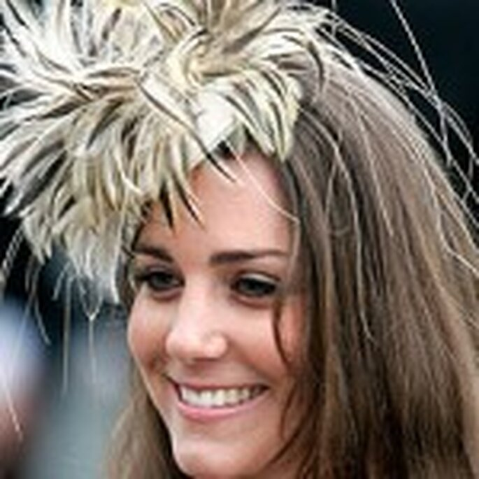 Kate Middleton con un tocado