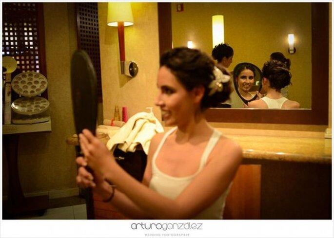 Tips para elegir el mejor peinado para tu boda - Foto Arturo González