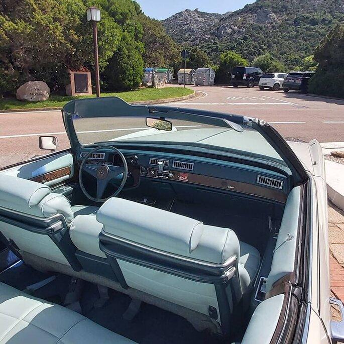 Shardana Classic - interno auto noleggio