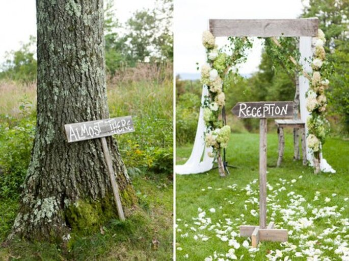 Romantik mit Green Wedding-Flair – Foto: Green wedding shoes