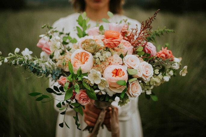 Foto: Cheesines; diseño floral de Floweriize