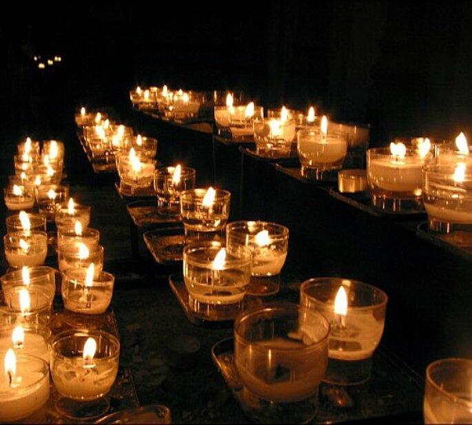 Decoracion Iglesia Boda Velas ~ Decoraci?n de boda con velas