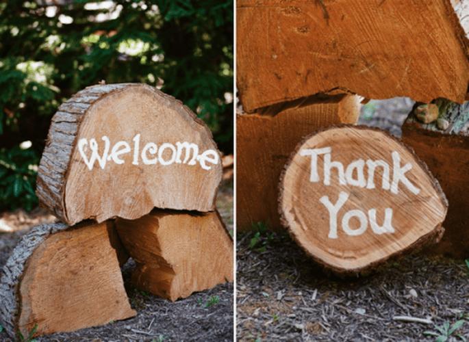 Elige detalles únicos para que tu boda sea memorable - Foto Jen Lynne