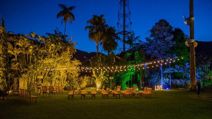 Lindo local para casamento ao ar livre