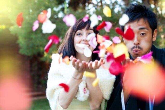 La feliz pareja, Tània y Yuya / Foto por En RoutePhotography