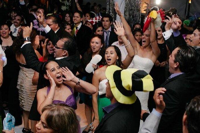 Deja que los más bailadores disfruten de la pista de baile - Foto Arody Sánchez