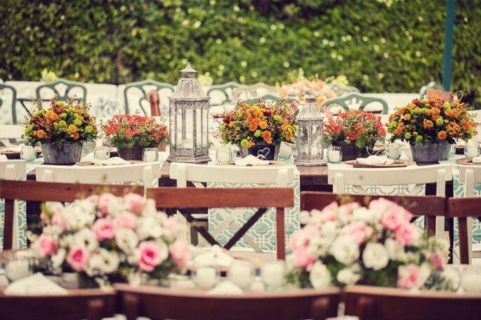 tendências decoração casamento