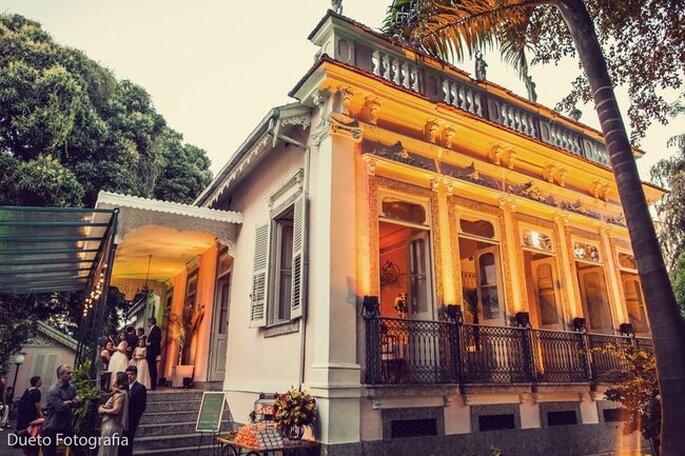 Solar das Palmeiras, um lindo espaço para se casar.
