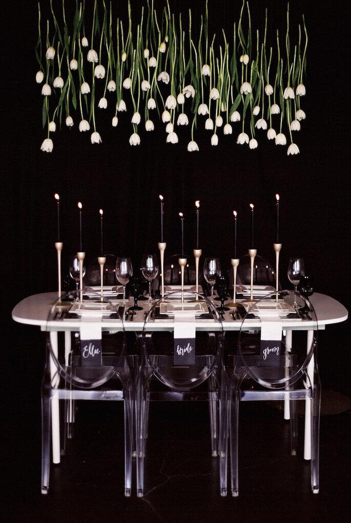 Decoración de mesa.