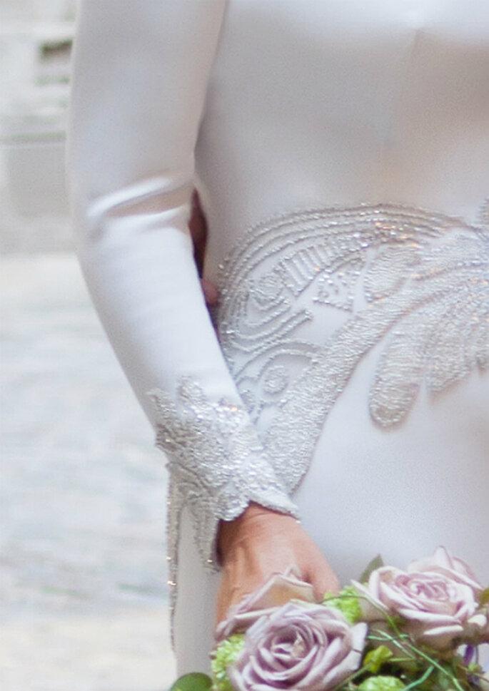 La robe de mariée de la créatrice Rosa Clara passée au peigne fin ! Photo: Rosa Clará.