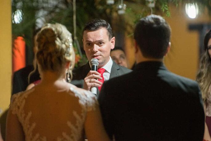 Celebração de casamento por Rafael Faria Celebrante