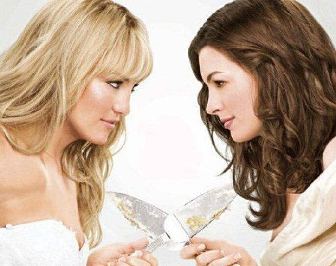 """Ne vous brouillez pas avec votre meilleure amie : faites appel à une Wedding Planner ! - source photo """"Meilleures ennemies"""""""