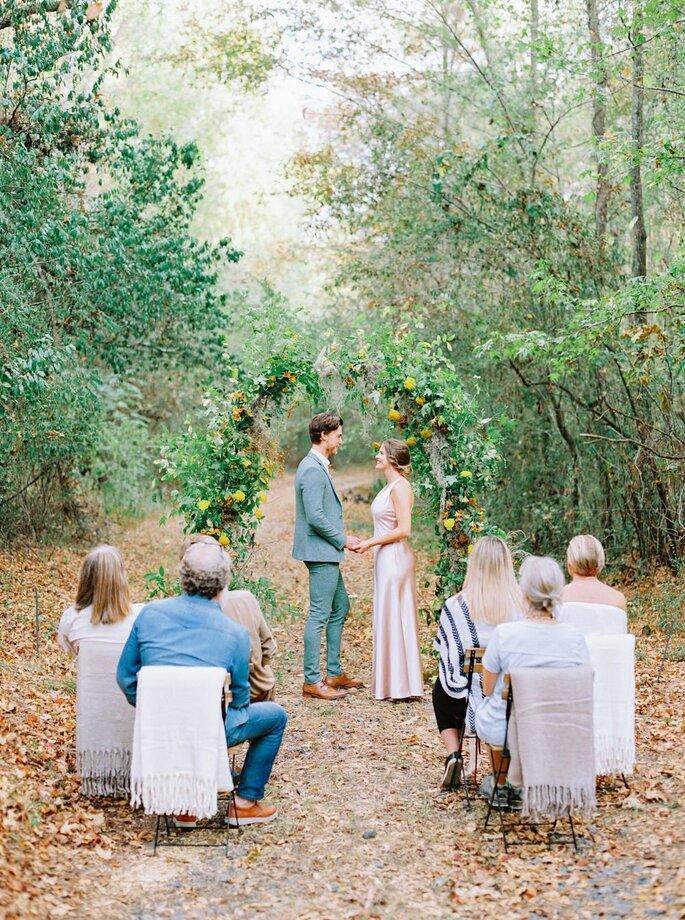 Micro Hochzeit, Mini Hochzeit, Hochzeit im kleinen Kreis, freie trauung