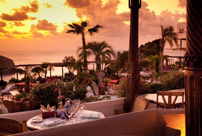 Terrasse du Restaurant-Lounge Eden, Hôtel Hacienda Na Xamena, Ibiza