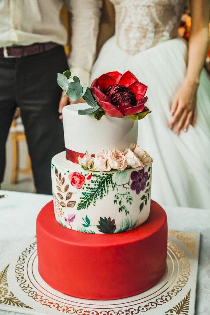 торт с цветами flowers lab