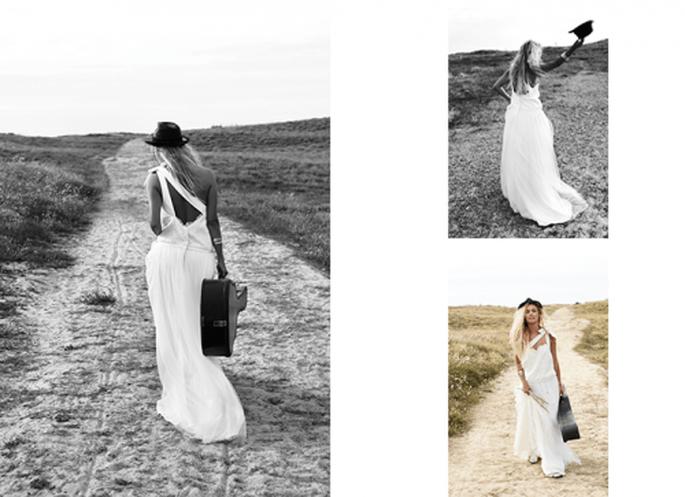 romantyczna suknia ślubna 2013