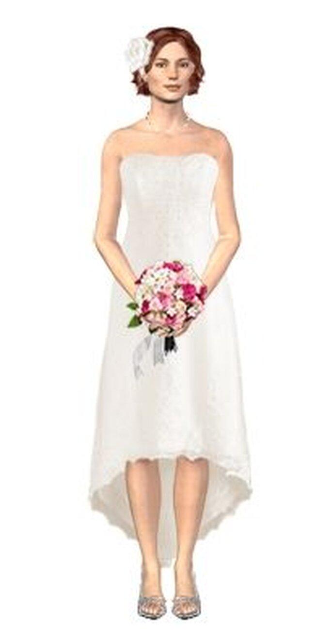 Si dudas sobre el estilo de tu vestido, puedes verlo antes de encargarlo