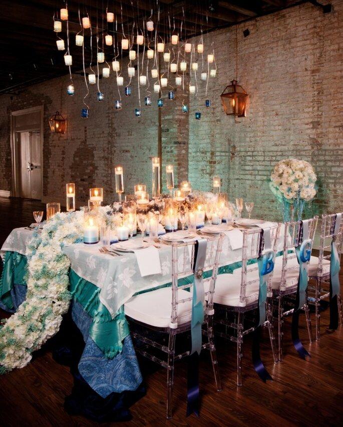 Decoración de boda con velas - Foto Art de Vie