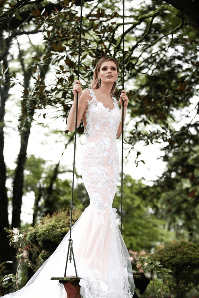 Vestido sereia