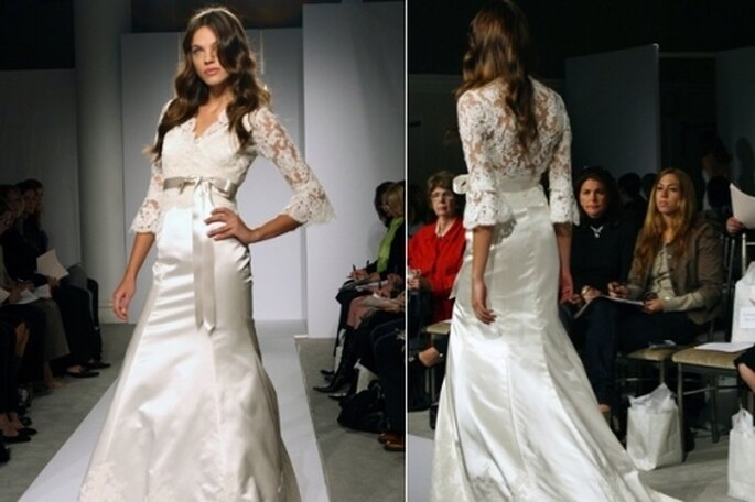 Vestidos de Noiva para o Inverno - Jim Hjelm Couture