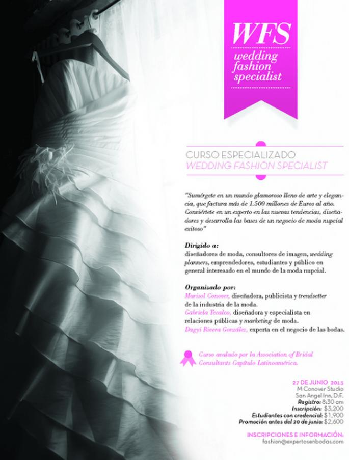 Conoce todos los secretos de la moda nupcial en Wedding Fashion Specialist
