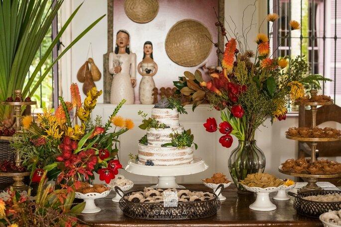 Casamento com inspiração no sertão nordestino