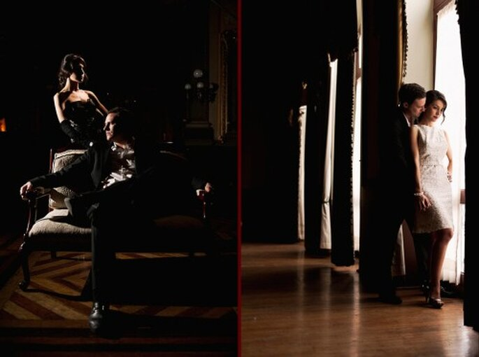 Sesion de fotos de pareja inspirada en los 50's - Foto Maria Velarde