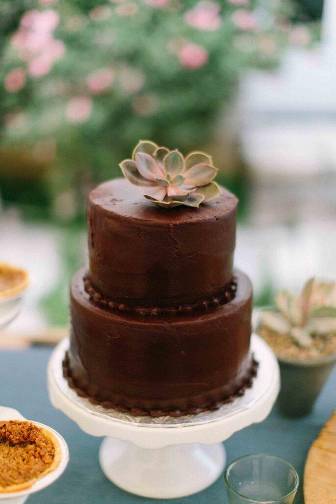 Pastel de chocolate - Heather Hawkins Photography