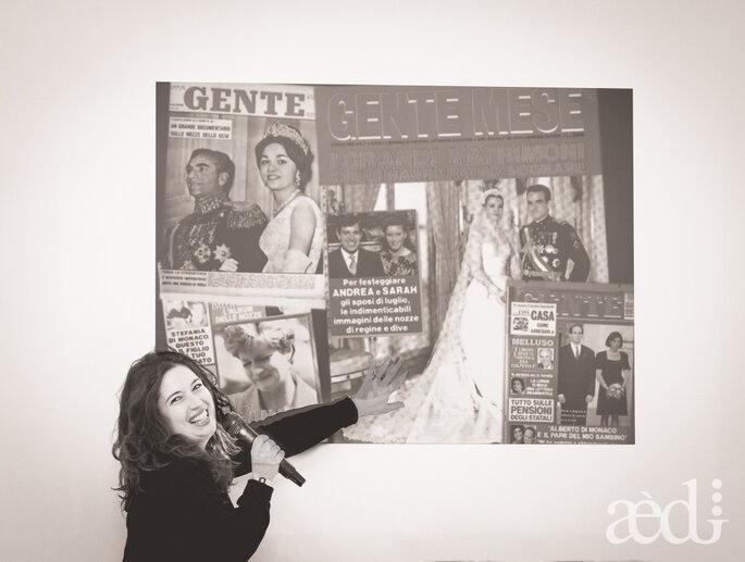 Le nozze reali ai tempi di Facebook secondo Miriam Lepore - Foto by AEDI Studio
