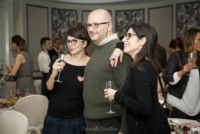 Beato tra le fotografe, Luca Rajna e L'Ordine della Giarrettiera