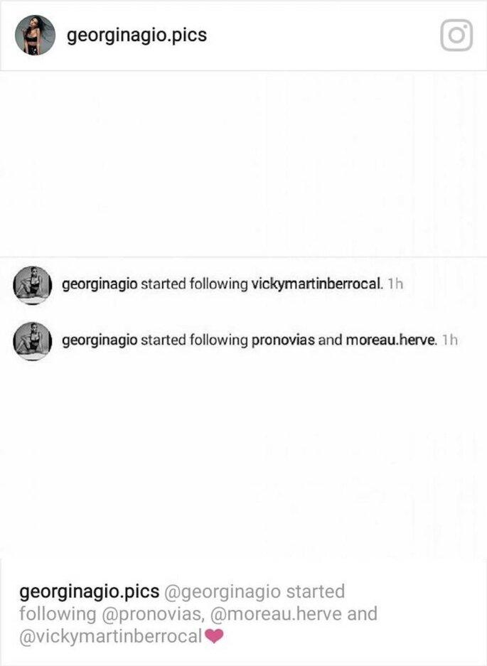 Instagram Georgina Rodríguez
