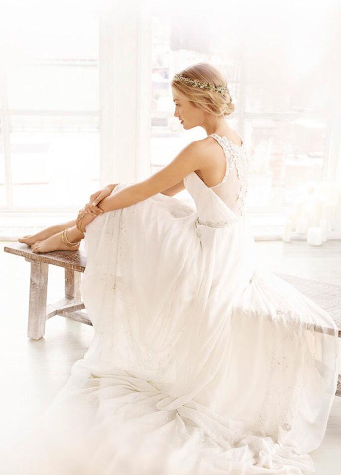 Hermosos vestidos de novia revestidos de romance y toques vintage - Foto Ti Adora by Alvina Valenta