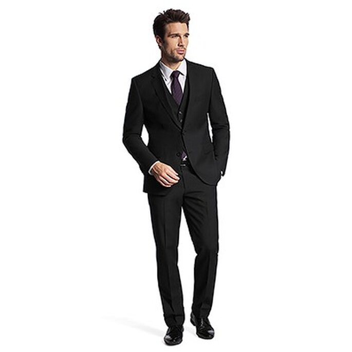 Modell The James3/Sharp5WE 50211856 Schwarz von Hugo Boss