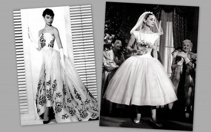 Audrey Hepburn in ballet flats Wedding day inspiration The divine Ms
