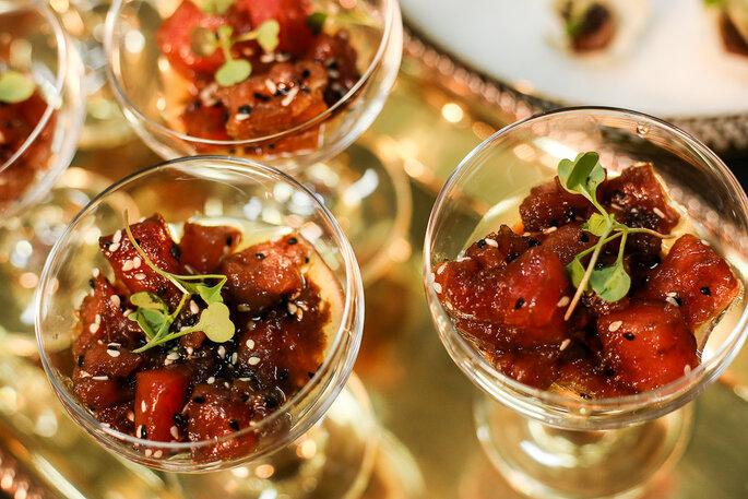 gastronomia de casamento