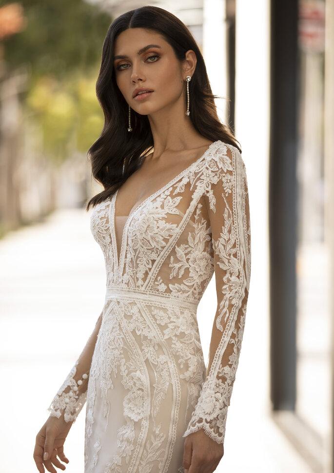 Vestidos de novia con mucho pecho