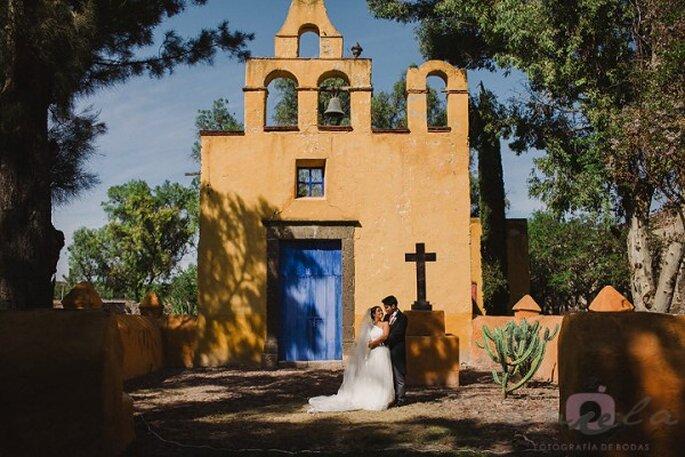 Real Wedding: La boda de Mercedes y Edmon en Hacienda Puerto de Sosa, San Miguel de Allende - Foto Aniela Fotografía