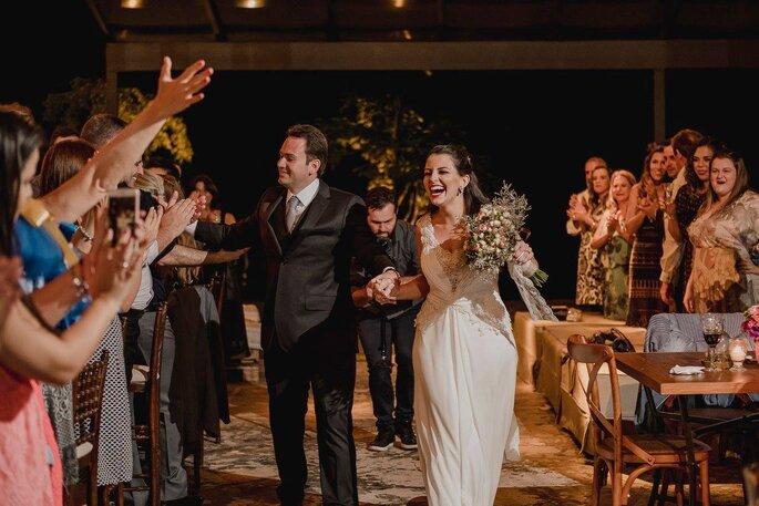 entrada dos noivos
