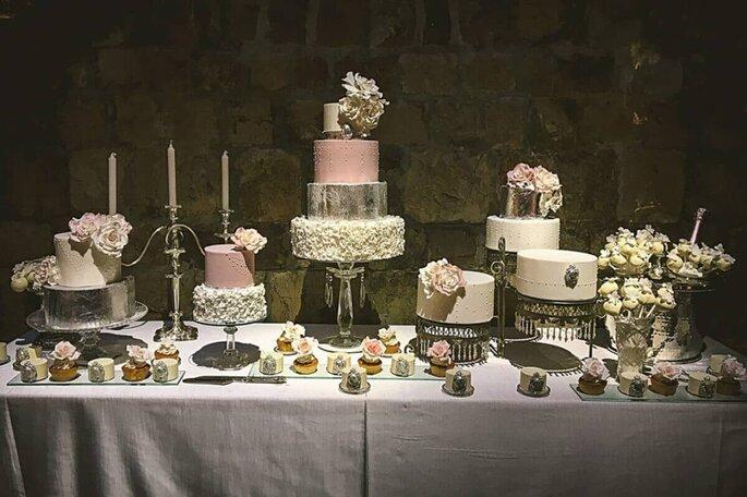 torta nuziale sweet table