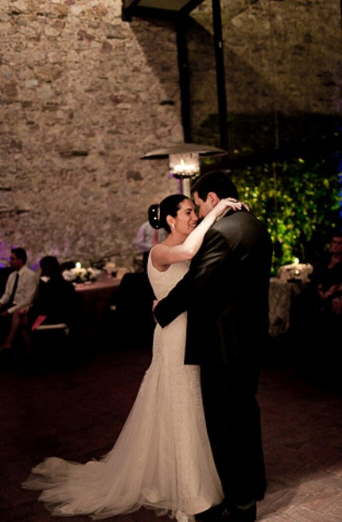 Der Brautwalzer für das Hochzeitspaar - Foto: Chema Naranjo
