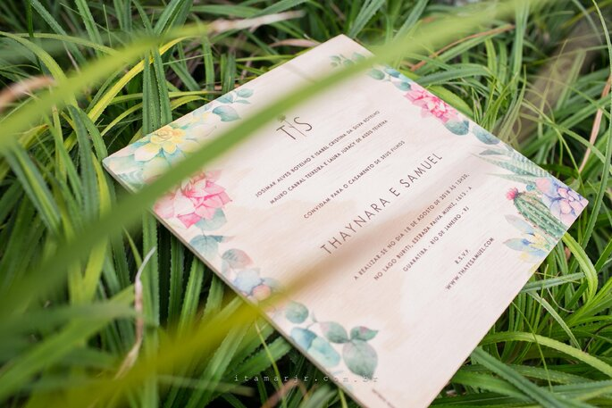 Identidade visual e convites: Patrícia Koeler - Fotografia: Itamar de Assis Jr. Photography