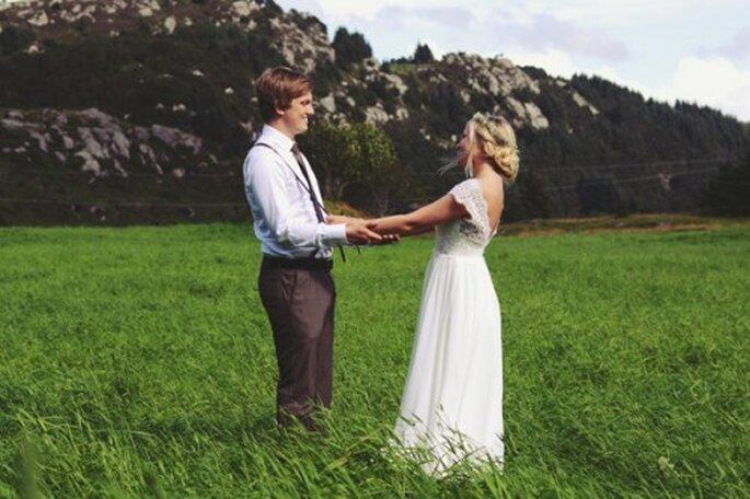 Vestido de novia para el verano