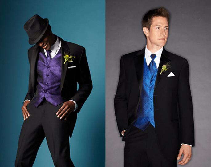 Trajes y esmoquin para novio con tendencia moderna - Foto Men's Wearhouse