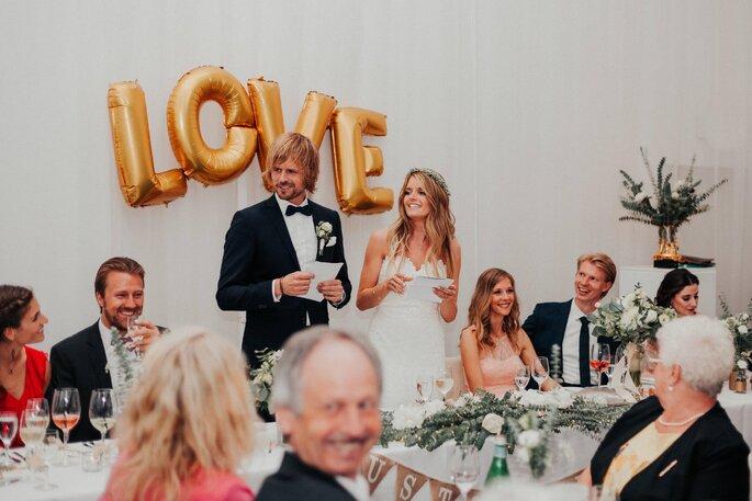 Ansprache am großen Hochzeitstag.