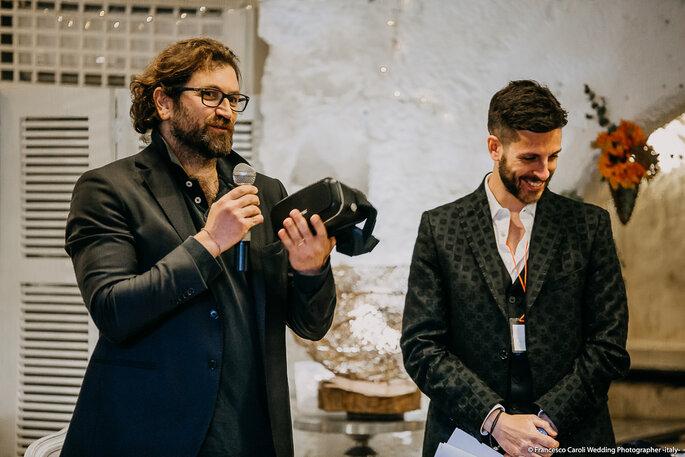 Grazie a Stefano Gentili di TotemaVr360 per la diretta in 360º del nostro #weddingclubzankyou